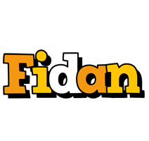 Fidan cartoon logo