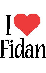 Fidan i-love logo