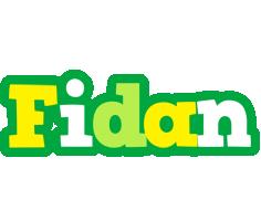 Fidan soccer logo