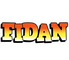 Fidan sunset logo