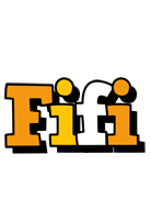 Fifi cartoon logo