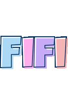 Fifi pastel logo