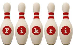 Fikri bowling-pin logo