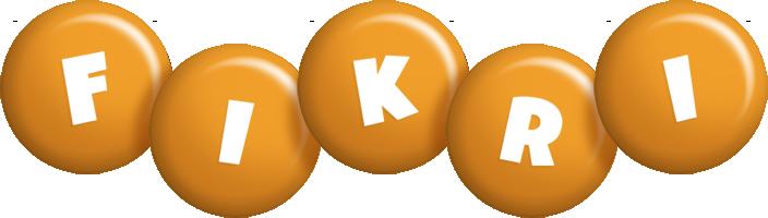 Fikri candy-orange logo