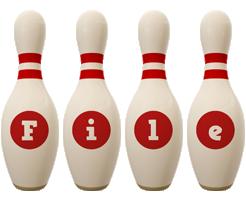 File bowling-pin logo
