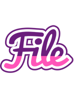 File cheerful logo