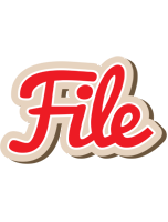 File chocolate logo