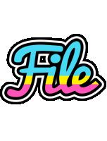 File circus logo