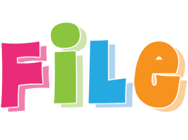 File friday logo