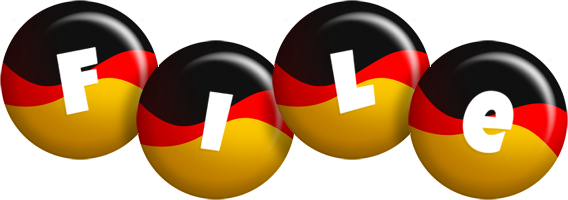 File german logo