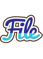 File raining logo