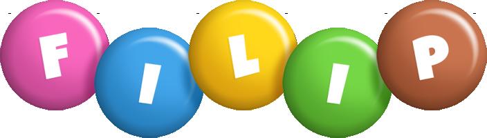 Filip candy logo