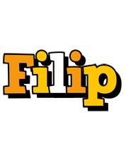 Filip cartoon logo
