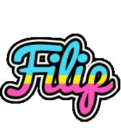 Filip circus logo