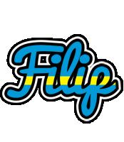 Filip sweden logo
