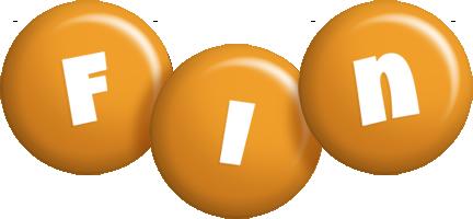 Fin candy-orange logo