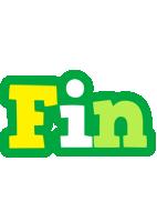Fin soccer logo