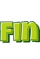 Fin summer logo