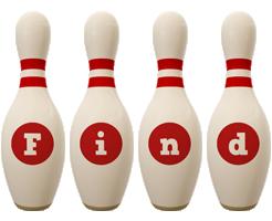 Find bowling-pin logo