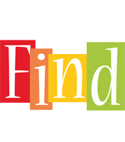 Find colors logo