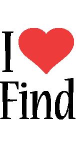 Find i-love logo
