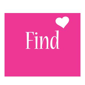 Find love-heart logo