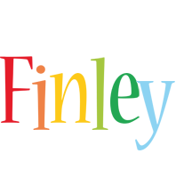 Finley birthday logo
