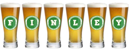 Finley lager logo