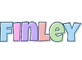 Finley pastel logo
