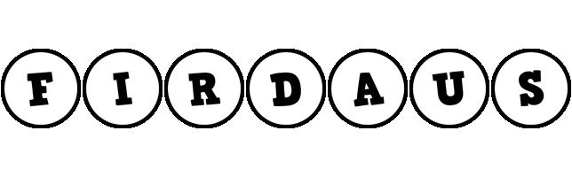 Firdaus handy logo