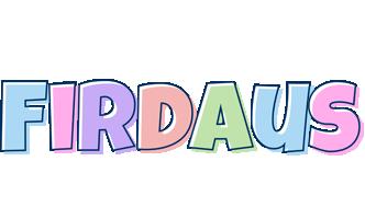Firdaus pastel logo