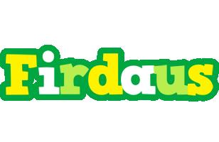 Firdaus soccer logo