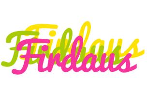 Firdaus sweets logo