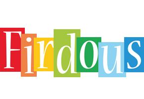 Firdous colors logo