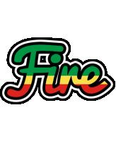 Fire african logo
