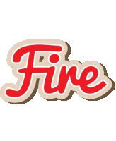 Fire chocolate logo