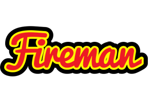 FIREMAN logo effect. Colorful text effects in various flavors. Customize your own text here: https://www.textGiraffe.com/logos/fireman/