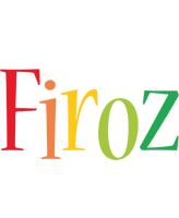 Firoz birthday logo