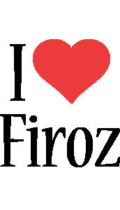 Firoz i-love logo