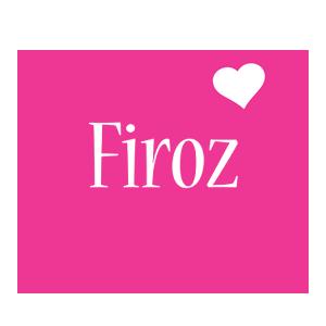 Firoz love-heart logo