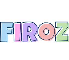 Firoz pastel logo