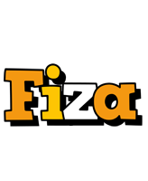 Fiza cartoon logo