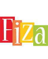 Fiza colors logo