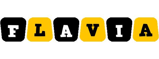 Flavia boots logo