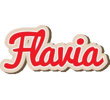 Flavia chocolate logo