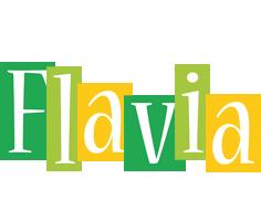 Flavia lemonade logo