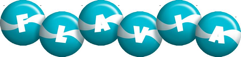 Flavia messi logo