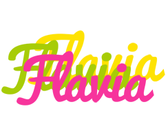 Flavia sweets logo