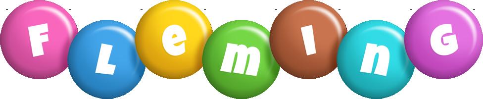 Fleming candy logo