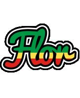 Flor african logo